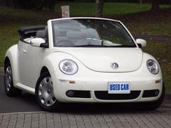 VW ニュービートルカブリオレ後期モデル 禁煙車 電動オープン 走行4万キロ 整備保証付
