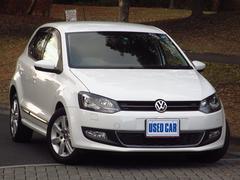 VW ポロTSIハイライン ワンオーナー禁煙 HID ナビTV Bカメ