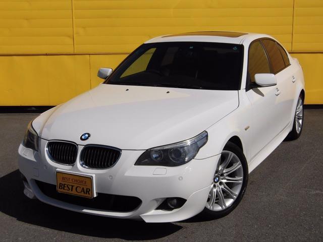 BMW 525i Mスポーツパッケージ 純正HDDナビ サンルーフ