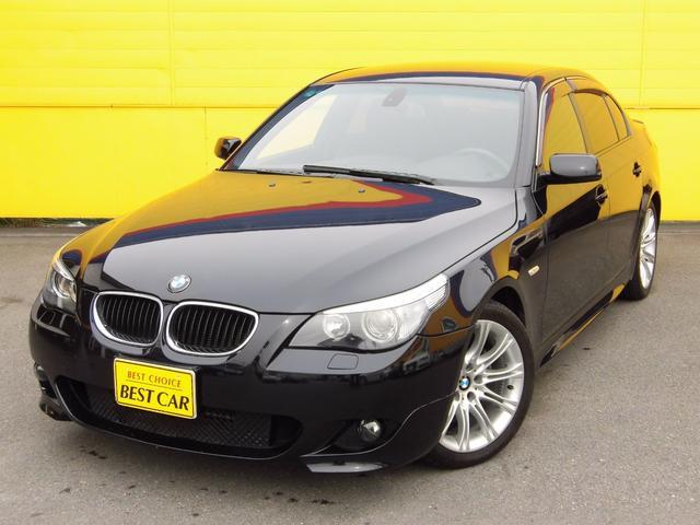 BMW 525i Mスポーツパッケージ 左H 純正ナビ HID
