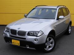BMW X3 2.5si 後期型 4WD 純正HDDナビ 純正AW HID