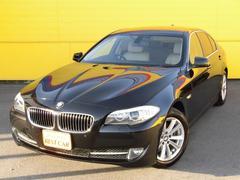 BMW523i ハイラインパッケージ 純正HDDナビ 本革シート