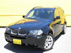 BMW X32.5i Mスポーツパッケージ 純正HDDナビ 本革シート