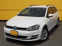 VW ゴルフヴァリアントTSIコンフォートラインブルーモーションテクノロジー HID