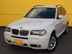 BMW X32.5si MスポーツパッケージII 4WD 純正HDDナビ