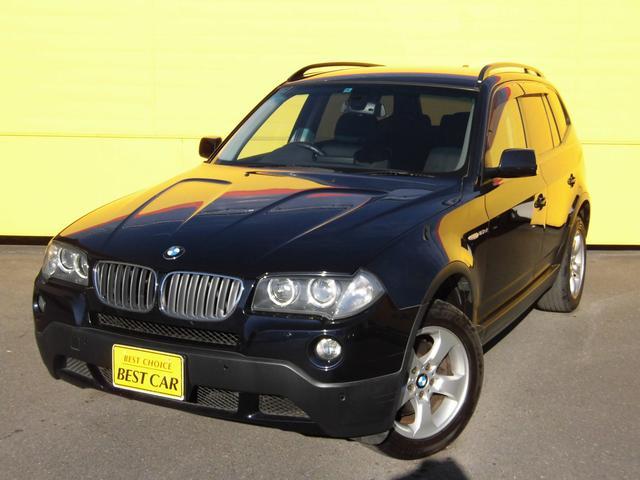 BMW X3 2.5si 4WD 後期型 純正ナビ バックカメラ...