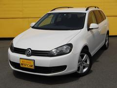 VW ゴルフヴァリアントTSIトレンドラインブルーモーションテクノロジー ナビTV