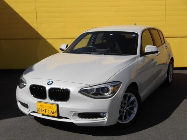 BMW 116i スタイル ハーフレザーシート HDDナビ ETC
