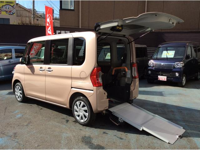 ダイハツ L SAIII スローパー 車椅子移動車 届出済未使用車