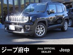 ジープ・レネゲードリミテッド 黒革シート 1オーナー ACC付 Jeep認定中古車