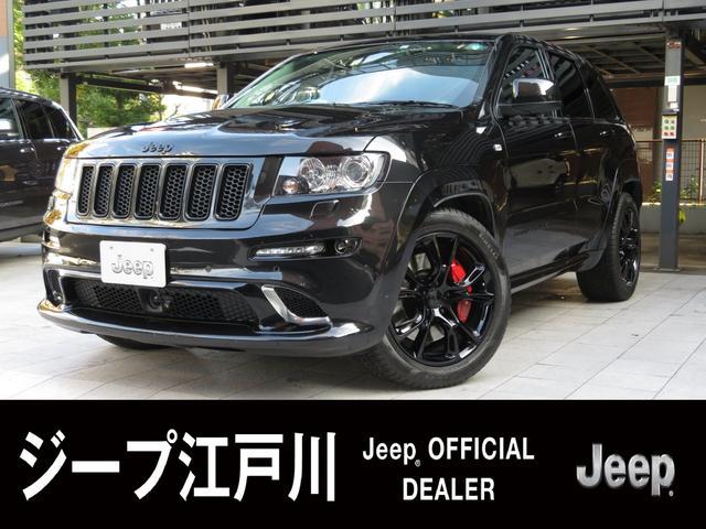 SRT8 6.4L HEMI SRTブラックホイール Jeep認定中古車(1枚目)