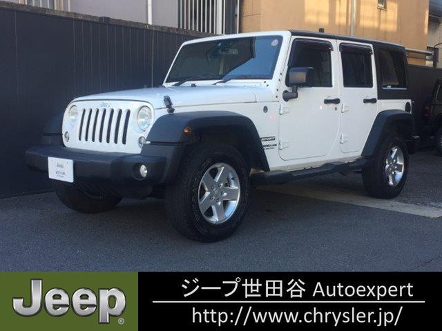 クライスラー・ジープ スポーツ 4WD 認定中古車 1オナ 16モデル CD