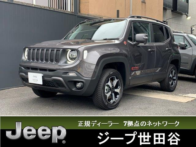 クライスラー・ジープ トレイルホーク 4WD認定中古車 弊社デモカーCarPlay