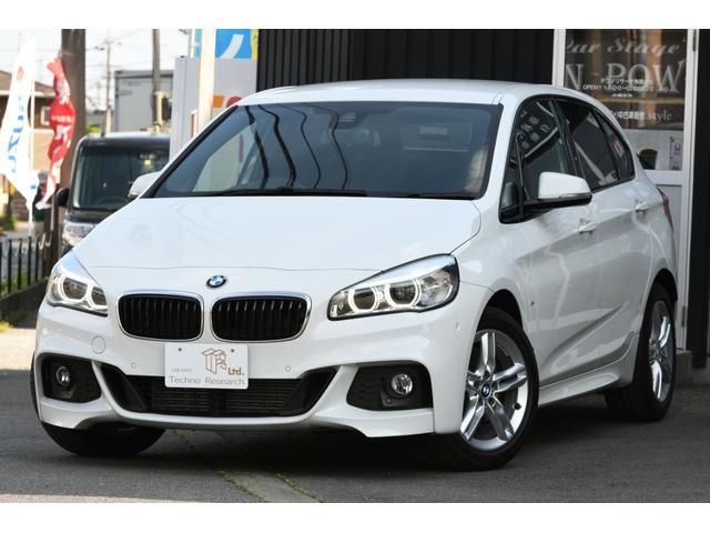 BMW 218dアクティブツアラー Mスポーツ パーキングサポートPKG コンフォートPKG ミラー型ETC 純正ナビ カロッツェリアTVチューナー バックカメラ LEDヘッドライト パワーリアゲート プッシュスタート スマートキー ドラレコ