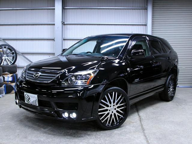 トヨタ プレミアムSパッケージ黒革HDDマルチ 新品フルエアロ