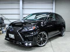 RXRX450hバージョンL 黒革 SR 現行フェイス新品エアロ