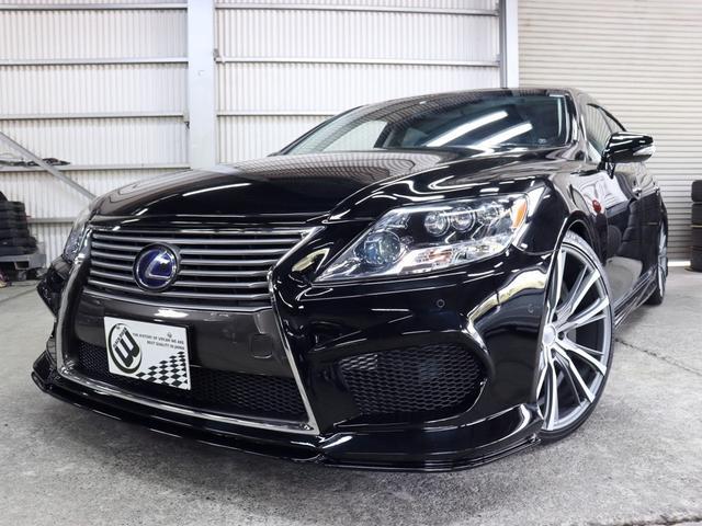 レクサス LS600hL後席セパレートシート 黒革SR 長期1年保証付