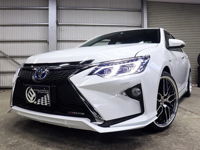 トヨタ ハイブリッド Gパッケージ 新品フルエアロ 新品ホイール
