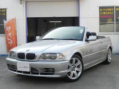 BMW330Ciカブリオーレ オープン黒本革シート シートヒーター