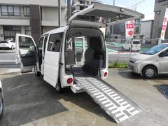 タウンボックス福祉車両 スローパー 4人乗り オートマ 電動ウインチ付き