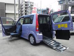 ムーヴ福祉車両 スローパー 助手席リフトUPシート 車高降下装置
