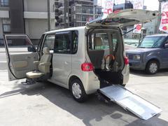 タント福祉車両スローパー 助手席電動リフトUPシート リアシート付