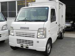 キャリイトラック冷蔵冷凍車 −30℃低温設定 サイド扉付 車検32年6月