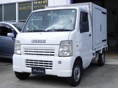 キャリイトラック冷蔵冷凍車 −5℃設定 オートマ サイド扉付 バックカメラ付