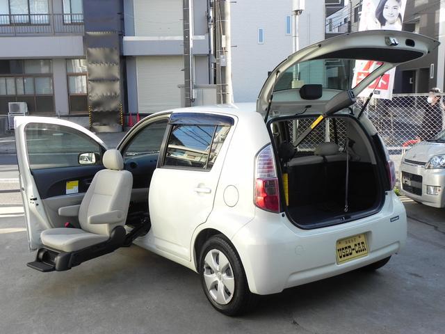 トヨタ パッソ G助手席電動リフトUPシートBタイプ 収納装置 キ...