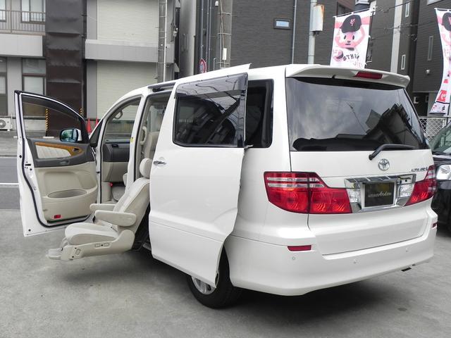 トヨタ AX LEDセカンドリフトUPシート 両パワードア ナビTV