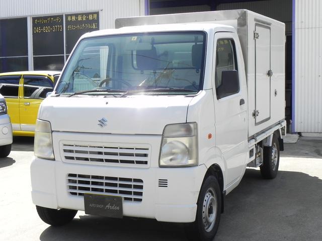 スズキ 低温冷蔵冷凍車 -25度設定 サイド扉付き オートマ車