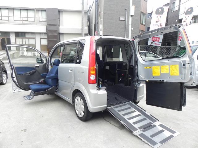 ダイハツ 福祉車両 スローパー 助手席電動リフトUPシート 電格ミラー