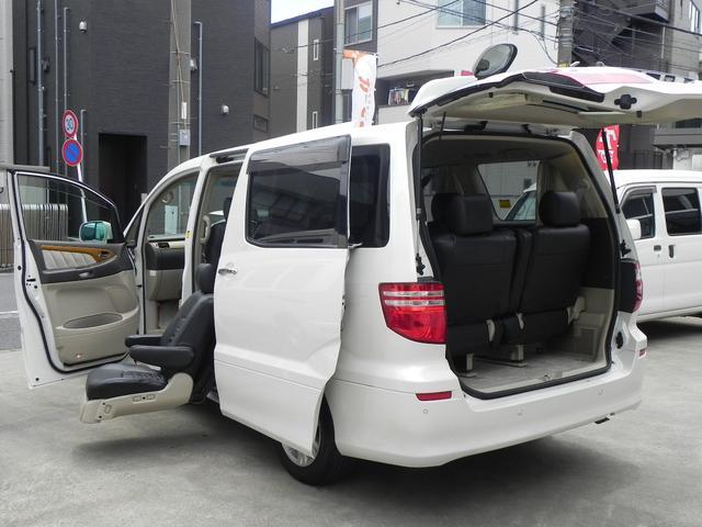 トヨタ MZ サイドリフトUPシート両パワースライドパワーバックドア