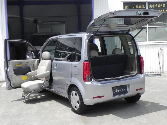 日産 オッティ E スライド 福祉車両 助手席スライドUPシート 便利なパワースライドドア機能付き(左後) ナビTV付 バックカメラ付 ETC付 遠方納車可能