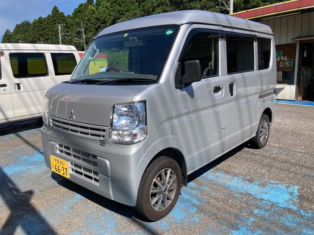 三菱 ミニキャブバン M 両側スライドドア ETC CD エアコン パワステ ABS