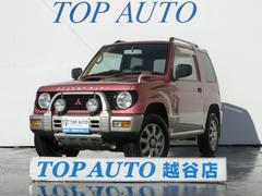 パジェロミニVR−II ターボ 4WD タイミングベルト交換済み CD