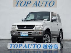 パジェロミニスヌーピーエディション 4WD タイミングベルト交換済 CD