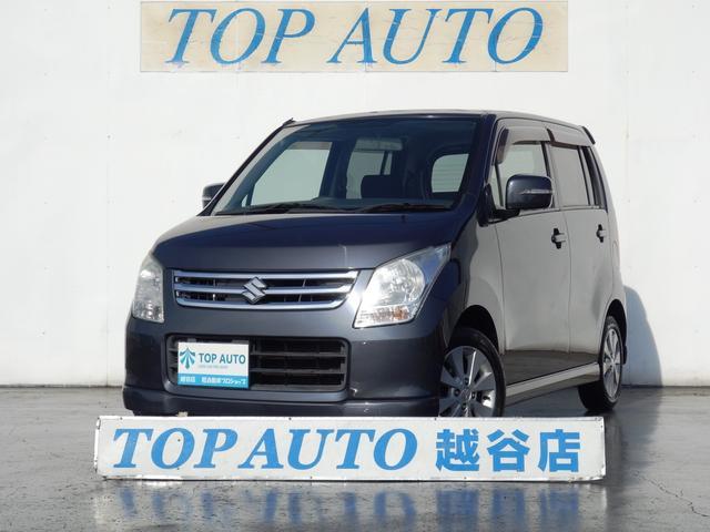 スズキ ワゴンR FXリミテッドII 純正アルミ CD スマートキ...