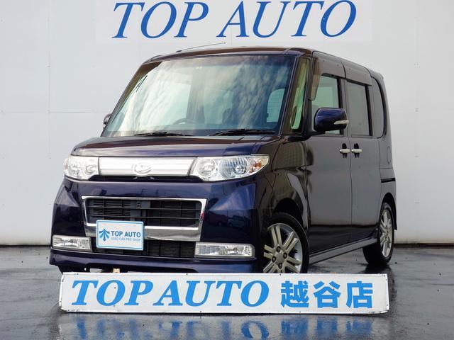 ダイハツ タント カスタムVセレクションターボ ナビ ETC 修...