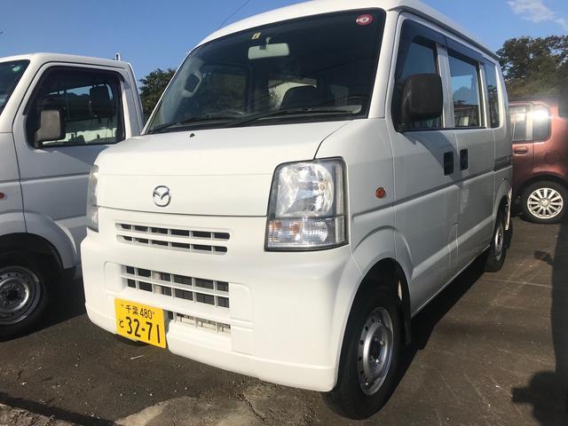 マツダ PA エアコン パワステ MT5速