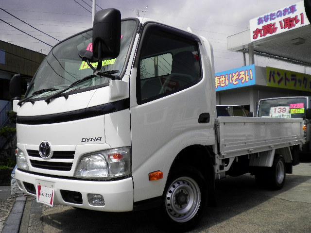 トヨタ ロングジャストロー低床 ディーゼルターボ 1450kg積載
