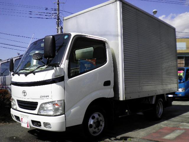 トヨタ ダイナトラック ロングフルジャストロー アルミバン 1500kg積載 ETC