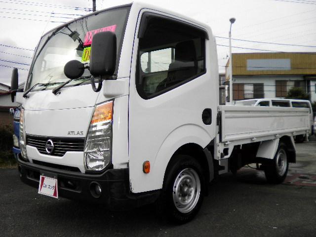 日産 シングルスーパーロー1500kg積載 5速 10尺ガソリン車