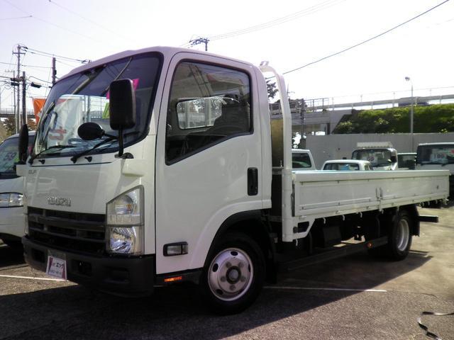 いすゞ ワイドロング 2トン積載 ディーゼルターボ 6速 荷台内寸435x206 ETC