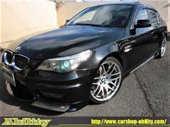 BMW540i ENERGYエアロ 可変マフラー 19AW 黒革