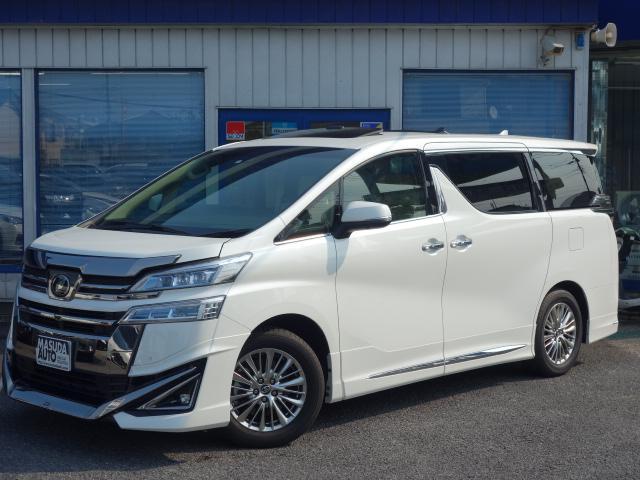 トヨタ 3.5V L1オナJBLリアエンタパノラミSRデジミラエアロ