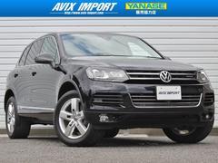 VW トゥアレグハイブリッド 黒革 HDD全周カメラ ACC 電動Rゲート