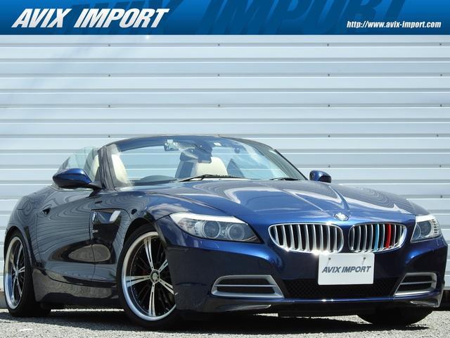 BMW sDrive23i ハイラインパッケージ ベージュ革シート 純正ナビバックカメラ メモリー付パワーシート シートヒーター パドルシフト ミラー一体型ETC車載器 キセノンヘッドライト H&Rサスペンション レッドキャリパー 18インチAW 弊社買取直販