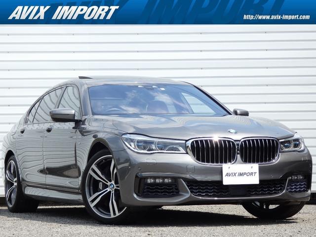BMW 7シリーズ 750Li Mスポーツ リアコンフォートPKGプラス 茶革 スカイラウンジ リアマッサージ Dアシストプラス ACC ナビTV 3D+トップビュー ヒーター&ベンチレーション リアエンタ ソフトクローズ コンフォートアクセス HUD レーザーライト 20AW