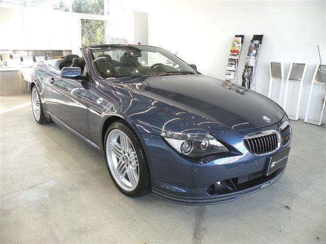 BMWアルピナ カブリオ スーパーチャージ 保証付 HDDナビ D車